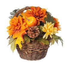 thanksgiving bouquet or thanksgiving bouquet with pumpkin and autumn flowers