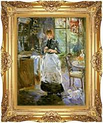 Berthe Morisot In The Dining Room Canvas Prints And Framed Art At - Dining room framed art