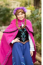 anna frozen princess party character kids party characters