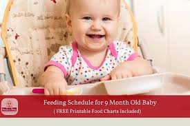 table food ideas for 9 month old 9 month old feeding schedule with free printable food charts