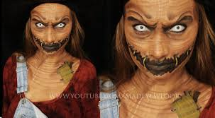 scarecrow makeup tutorial youtube