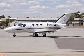 file flight options vh sqy cessna 510 citation mustang taxiing