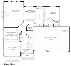 hamlet meadows the westport home design 1st floor floor plan