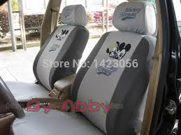 housse de siege duster embroidery mickey minnie mouse car seat covers accessories