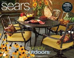 outdoor living at sears decor for your patio and pool area