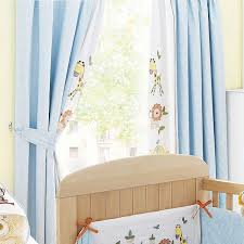 White Curtains Nursery by Nursery Window Coverings White Fabric Curtain Mahogany Varnished