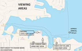 Map Of Conroe Texas The Christmas Boat Parade Of Lights On Lake Conroe