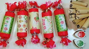 diy christmas crackers party favor gift packaging advent