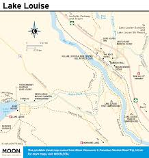 Canadian Pacific Railway Map Highway 93 Visiting Lake Louise Ab Border To Border Route In