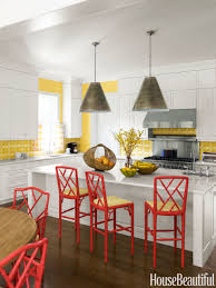 kitchen creative red pendant light for kitchen designs and