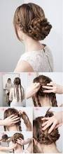 updo hairstyles for thick hair easy updo hairstyles long thick