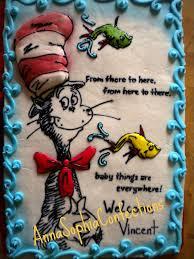 dr suess baby shower cake 1 2 sheet vanilla bean cake mo u2026 flickr