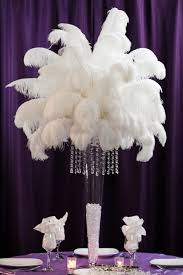 centerpiece rental ostrich feather centerpiece rental weddings sweet 16 new jersey