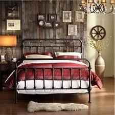 Vintage Metal Bed Frame Inspire Iron Bed Frame Bronze Metal Vintage Style Ebay