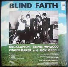 Ginger Baker Blind Faith Blind Faith Eric Clapton Steve Winwood Blind Faith Vinylvinyl