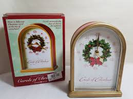 howard miller carols of ii 645 424 table clock ebay