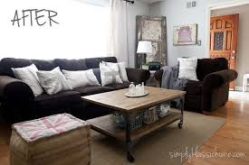 grey walls brown sofa blue walls brown furniture extraordinary love the blue walls with