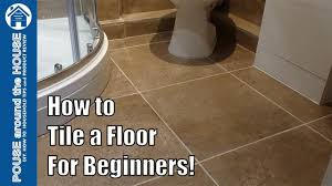 Tile Floor In Bathroom How To Tile A Bathroom Shower Floor Beginners Guide Tiling Made