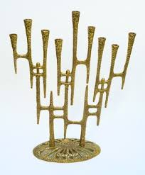 modern menorah happy chanukah the mid century modern menorah the invisible