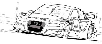 draw audi cars sedan coloring pages bulk color