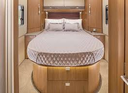 Delaware travel mattress images Island bed motorhomes more bed styles auto trail jpg