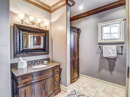 Bathroom Crown Molding Ideas Colors Traditional Full Bathroom With Frameless Showerdoor U0026 Limestone