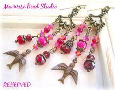 Chandelier Earrings Etsy Vintage Gypsy Colorful Chandelier Earrings By Bijouxfan On Etsy