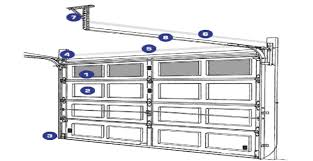 design for garage door track changing a roller garage door track image of making garage door track