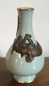 Chinese Celadon Vase South Street Antiques Porcelain Chinese And Export