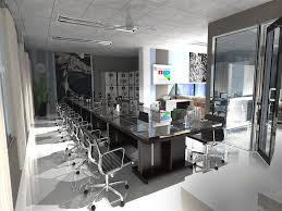 office vray render sketchup architecture interior design