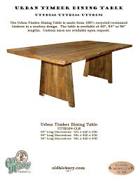 modern timber dining tables rustic furniture hickory furniture mirrors mirror frames