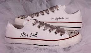 wedding shoes converse bridal converse shoes custom wedding converse
