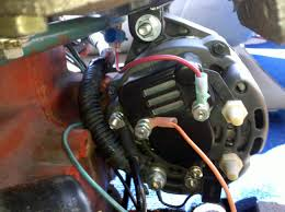 volvo penta aq130c 270 new alternator not charging system wiring