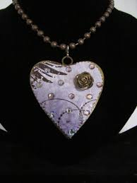 custom heart necklace custom bling necklaces bronze bling metal