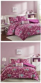 girls surf bedding fuchsia purple elephant bedding for girls twin xl full queen