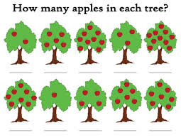 how many apples in the tree