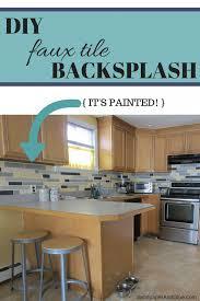 painted tiles for kitchen backsplash kitchen backsplash painting tiles rosa beltran design diy painted