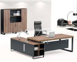 modern office table design photos of wooden manager desk sz od241