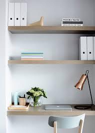Built In Bookshelves With Desk by Best 20 Desk Shelves Ideas On Pinterest Desk Space Desks And