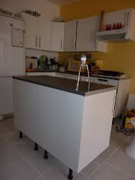 creer cuisine ikea meuble ilot central pas cher cuisine en image