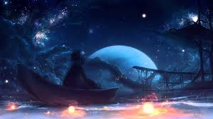 magical night wallpapers beautiful violin music ethereal night youtube