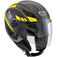 agv motocross helmet agv blade human black metal silver yellow helmet motocard