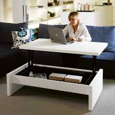 side table with laptop storage cool desks that make you love your job