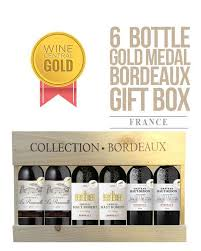 gold medal hair products company 6 gold medal bordeaux wines in french wooden gift box 1 day bottle