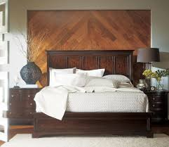 Bedroom Sets Atlanta Furniture Transitional Portfolio Panel Bedroom Set In Polished Sable