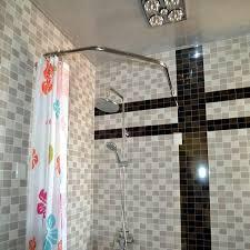 circular shower rod model the decoras