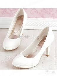 wedding shoes small heel wholesale 2013 new hot sale pu ivory low heel closed toe wedding