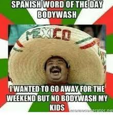 Memes In Spanish - 25 best memes about spanish word of the day spanish word