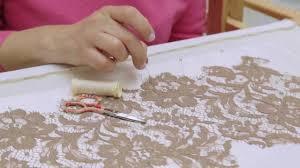 fashion technique lace appliqué