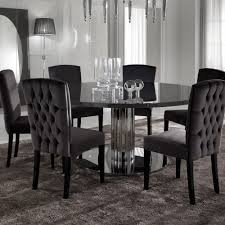 round dining room table sets italian modern designer chrome round dining table set juliettes